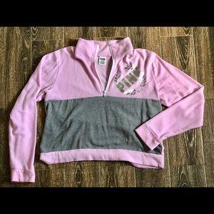Love Pink Pink and Gray Sweatshirt
